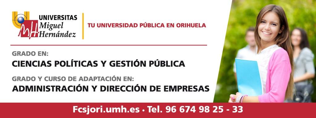 Imagen publicitaria de los Grados de la Facultad